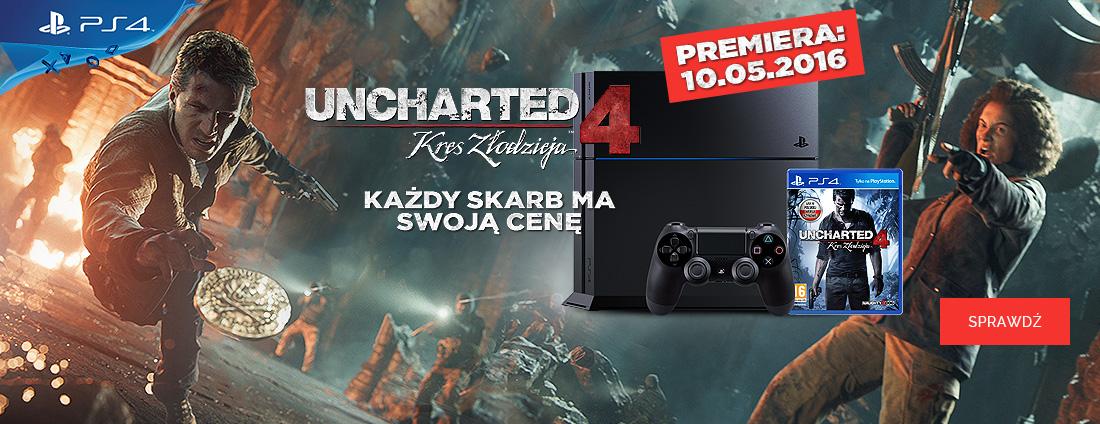 Uncharted 4 Kres Złodzieja