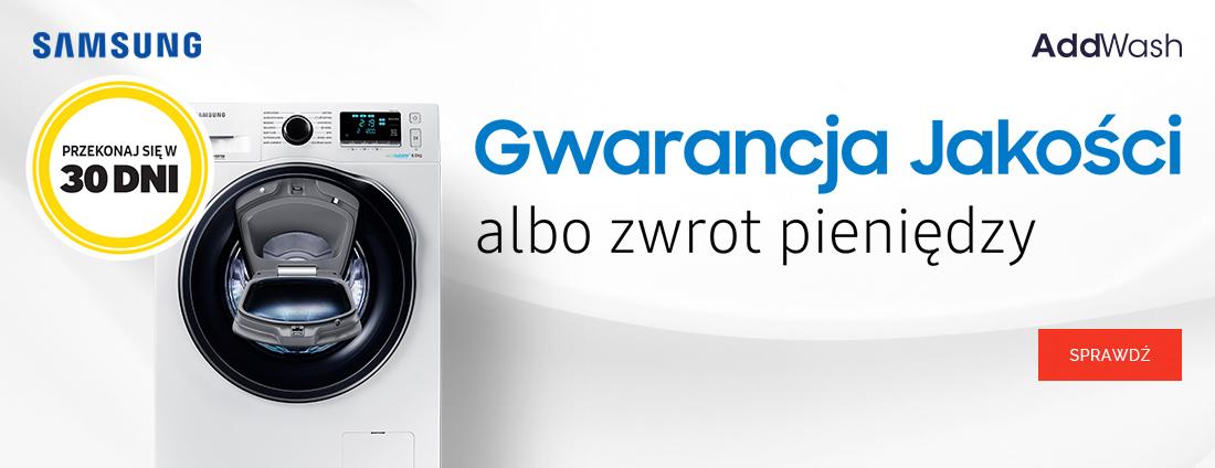 Samsung AddWash - Testuj 30 dni !