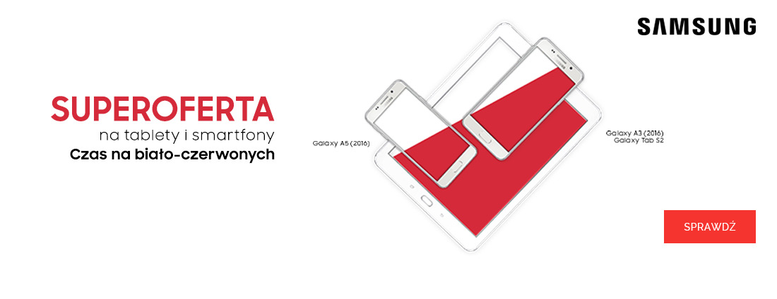 Samsung - Czas na biało-czerwonych!