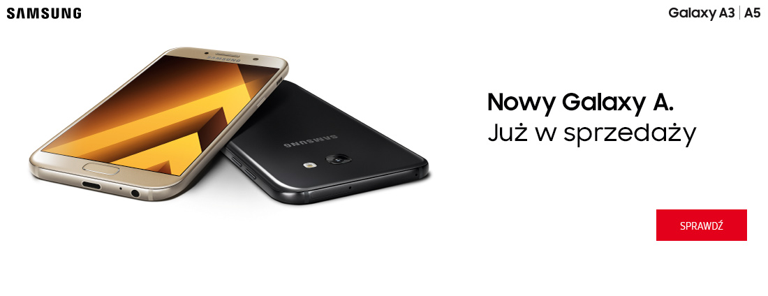Samsung Galaxy A już w sprzedaży