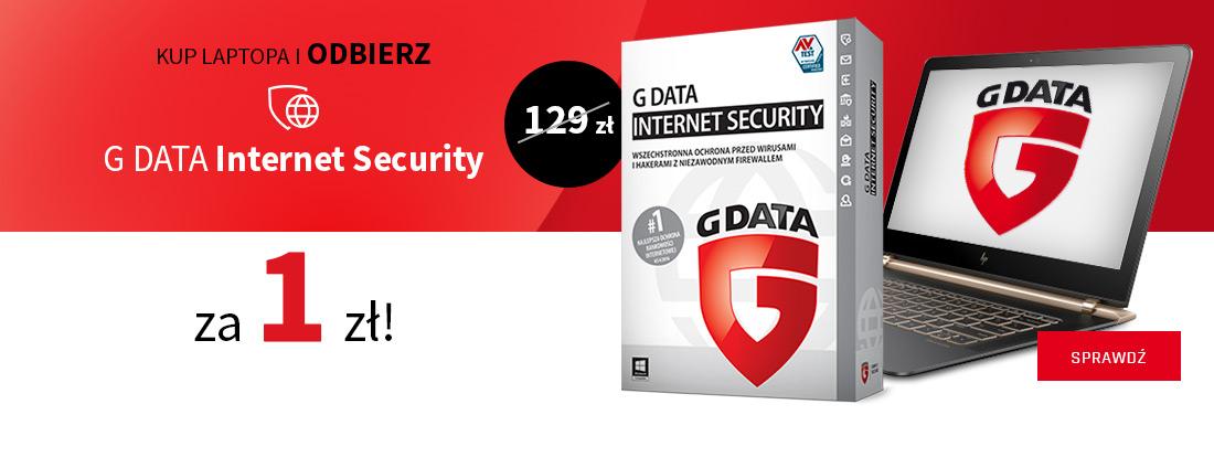 Kup laptopa i odbierz ochronę GDATA za 1 zł