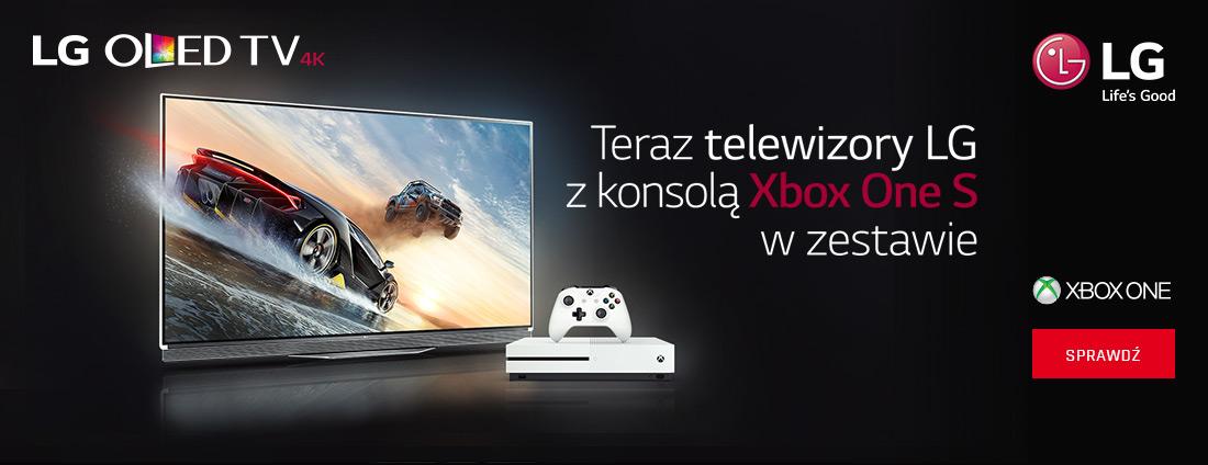 Telewizory LG z konsolą XBOX w zestawie!