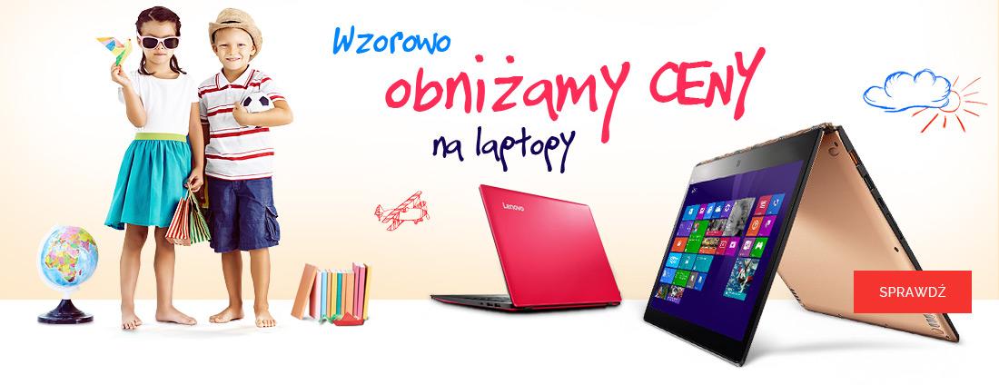 Wzorowo obniżamy ceny na laptopy