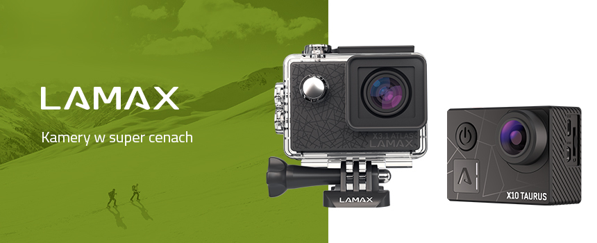 Kamery w super cenach – LAMAX