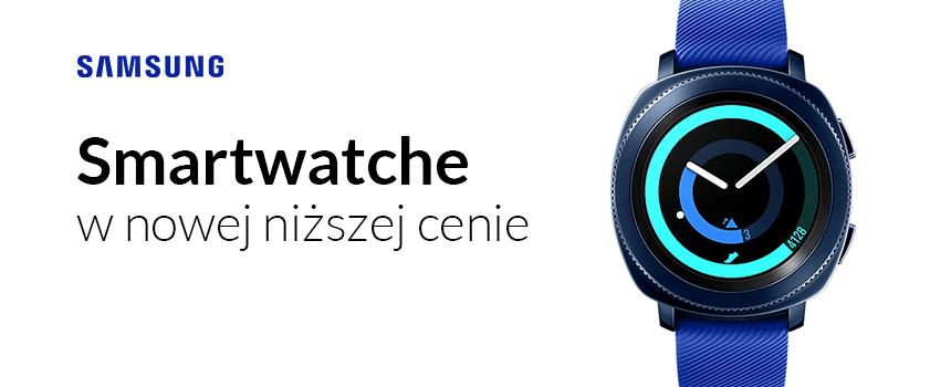Nowa niższa cena na smartwatche