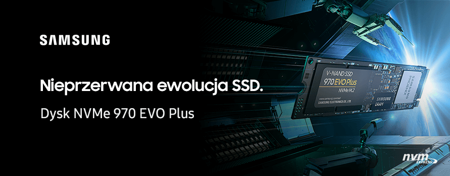 Samsung dyski SDD 970 EVO PLUS