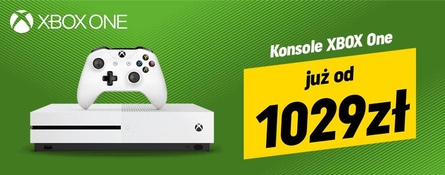 Xbox One za 1029 zł