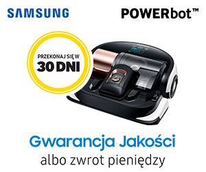 Samsung - Testuj powerboty przez 30 dni !
