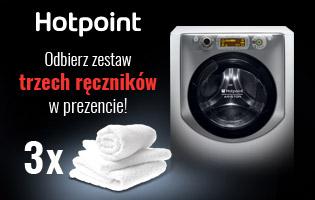 Hotpoint Ręczniki w prezencie