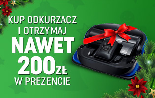 G2 - 200 zł za zakup odkurzacza