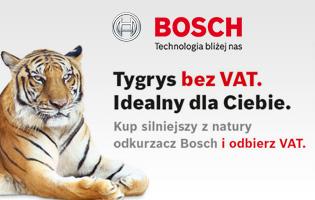 Bosch tygrys bez vat