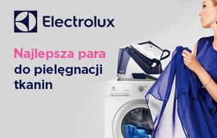 Electrolux najlepsza para do pielęgnacji tkanin