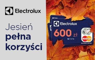 Electrolux jesień pełna korzyści