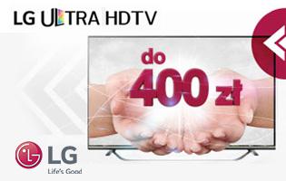 LG Promocja zwrot na konto
