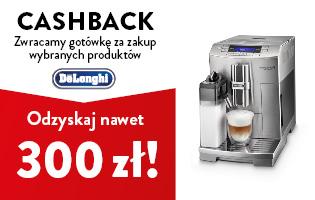 Delonghi Cashback 300 zł