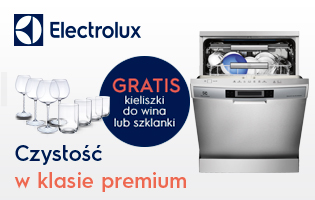 Prezenty do zmywarek Electrolux