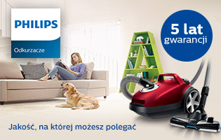 Philips - 5 lat gwarancji