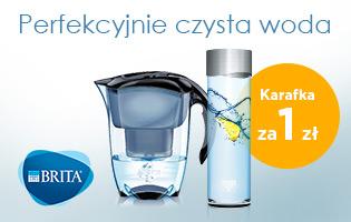 Dzbanki BRITA + karafka za 1 zł