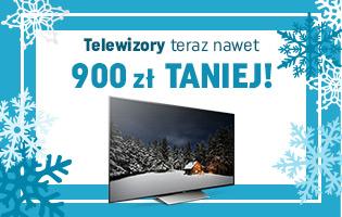 Zimowe obniżki cen telewizorów