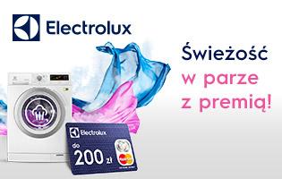 Electrolux - Świeżość w parze z premią