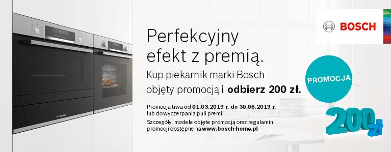Kup piekarnik marki bosch objęty promocją i odbierz 200 zł