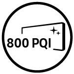 Samsung Factor képminőséget.  PQI 800