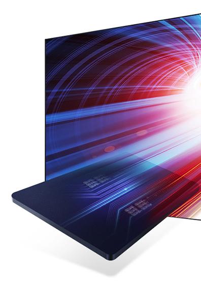 Samsung Easy feltölteni tartalmat a TV képernyőjén.  A Samsung Smart megtekintése