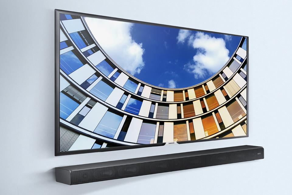 Samsung növelni fogja a hangot a TV-t.  Soundbar HW-MS650 *