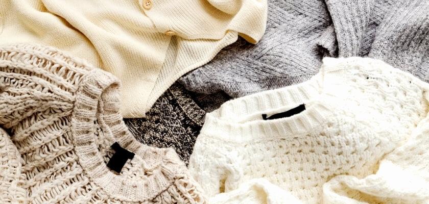 Welniany sweter