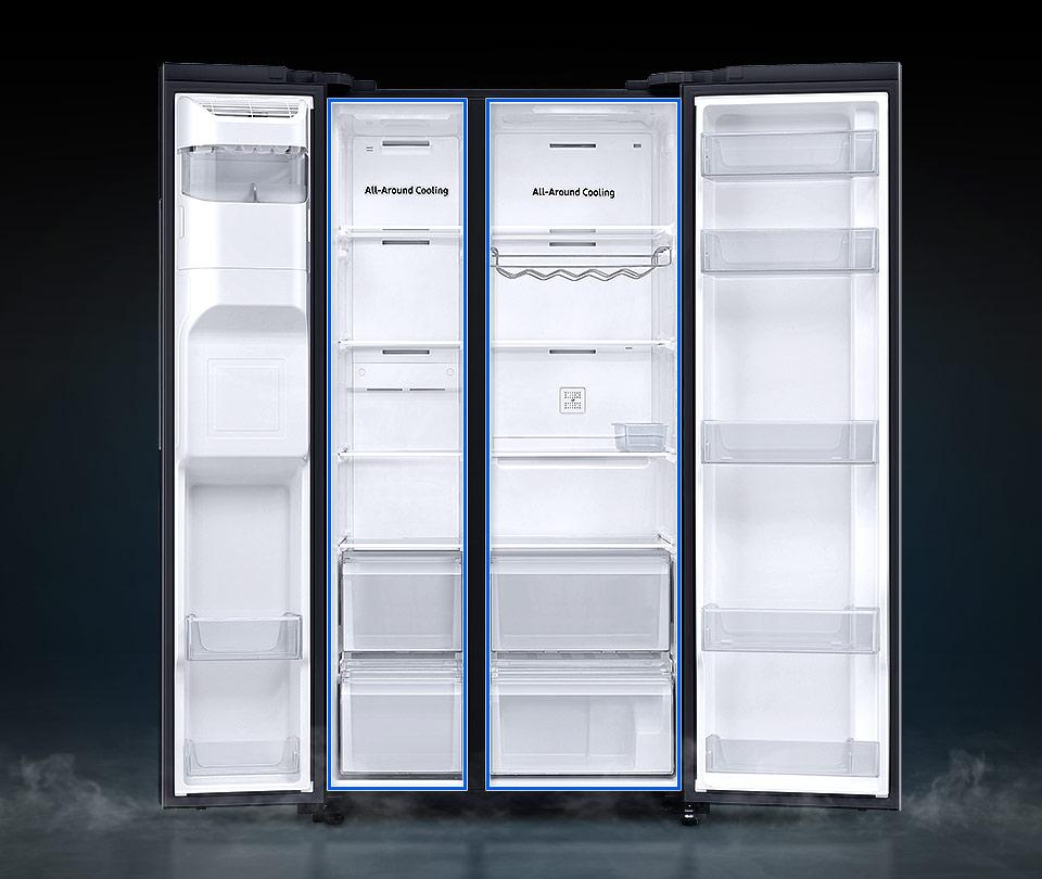 Duża pojemność lodówki oraz wydajny system izolacji SpaceMax