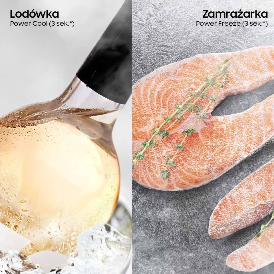 Szybkie zamrażanie i chłodzenie produktów
