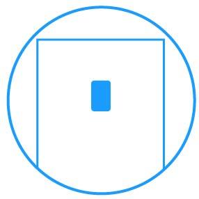 Samsung Łatwy dostęp. Zewnętrzny, srebrny wyświetlacz